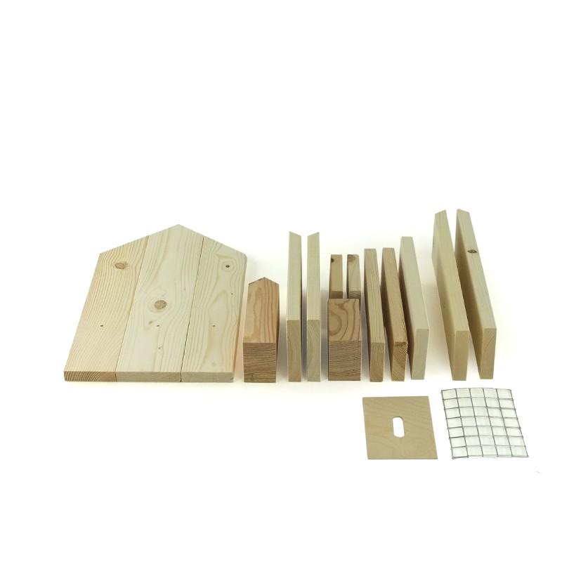 insektenhotel bausatz bastelset gro. Black Bedroom Furniture Sets. Home Design Ideas