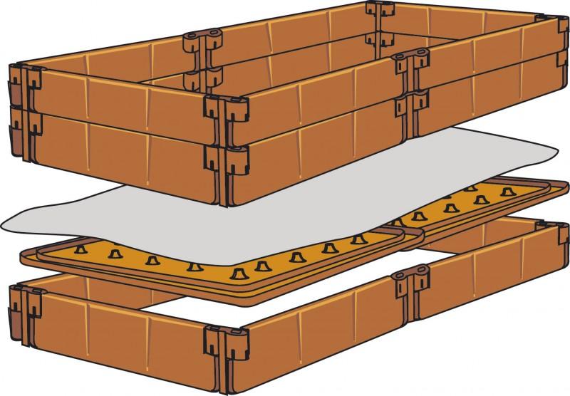 juwel balkon hochbeet terracotta. Black Bedroom Furniture Sets. Home Design Ideas