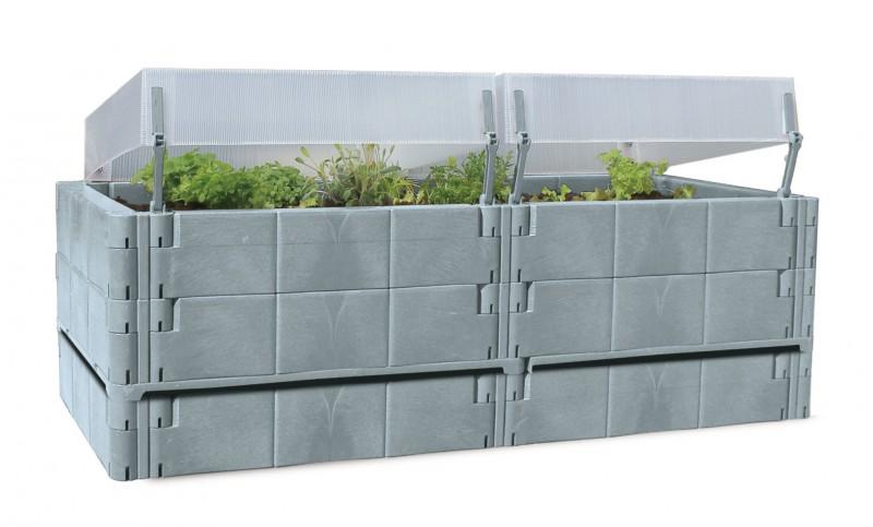 juwel balkon hochbeet basalt. Black Bedroom Furniture Sets. Home Design Ideas