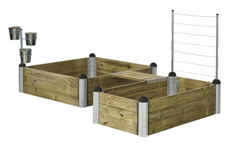 hochbeet bausatz pipe 15. Black Bedroom Furniture Sets. Home Design Ideas