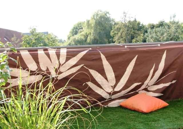 garten moy pvc bambusmatte sichtschutz balkonverkleidung bambus matte balkon zaun. Black Bedroom Furniture Sets. Home Design Ideas